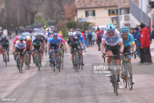 Geraint Thomas of Great Britain / Peloton / during the 53rd TirrenoAdriatico 2018 Stage 5 a 178km stage from Castelraimondo to Filottrano 269mon...