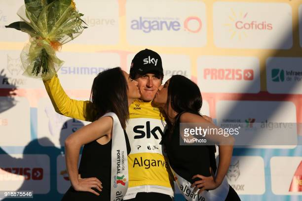 Geraint Thomas of Team Sky after the 2nd stage of the cycling Tour of Algarve between Sagres and Alto do Foia on February 15 2018