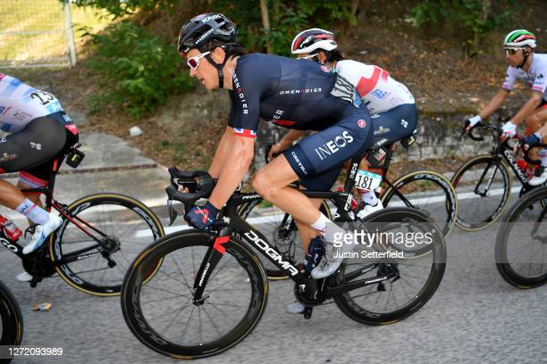 Geraint Thomas of The United Kingdom and Team INEOS Grenadiers / during the 55th Tirreno-Adriatico 2020, Stage 6 a 171km stage from Castelfidardo to...
