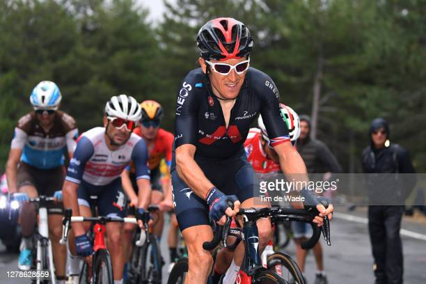 Geraint Thomas of The United Kingdom and Team INEOS Grenadiers / during the 103rd Giro d'Italia 2020, Stage Three a 150km stage from Enna to...