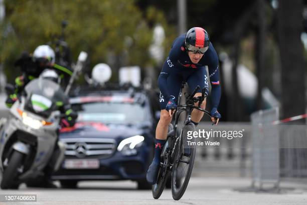 Geraint Thomas of The United Kingdom and Team INEOS Grenadiers during the 56th Tirreno-Adriatico 2021, Stage 7 a 10,1km Individual Time Trial stage...
