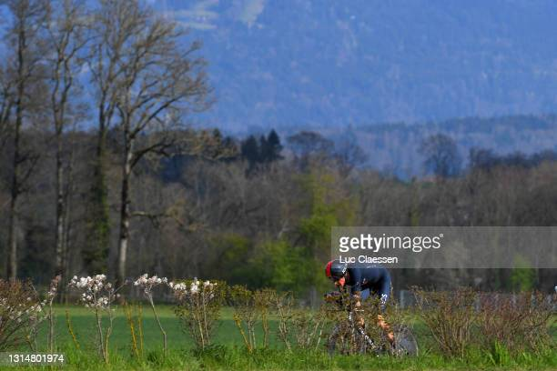 Geraint Thomas of The United Kingdom and Team INEOS Grenadiers during the 74th Tour De Romandie 2021, Prologue a 4,05km Individual Time Trial stage...