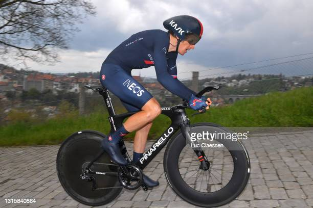 Geraint Thomas of The United Kingdom and Team INEOS Grenadiers during the 74th Tour De Romandie 2021, Stage 5 a 16,19km Individual Time Trial stage...