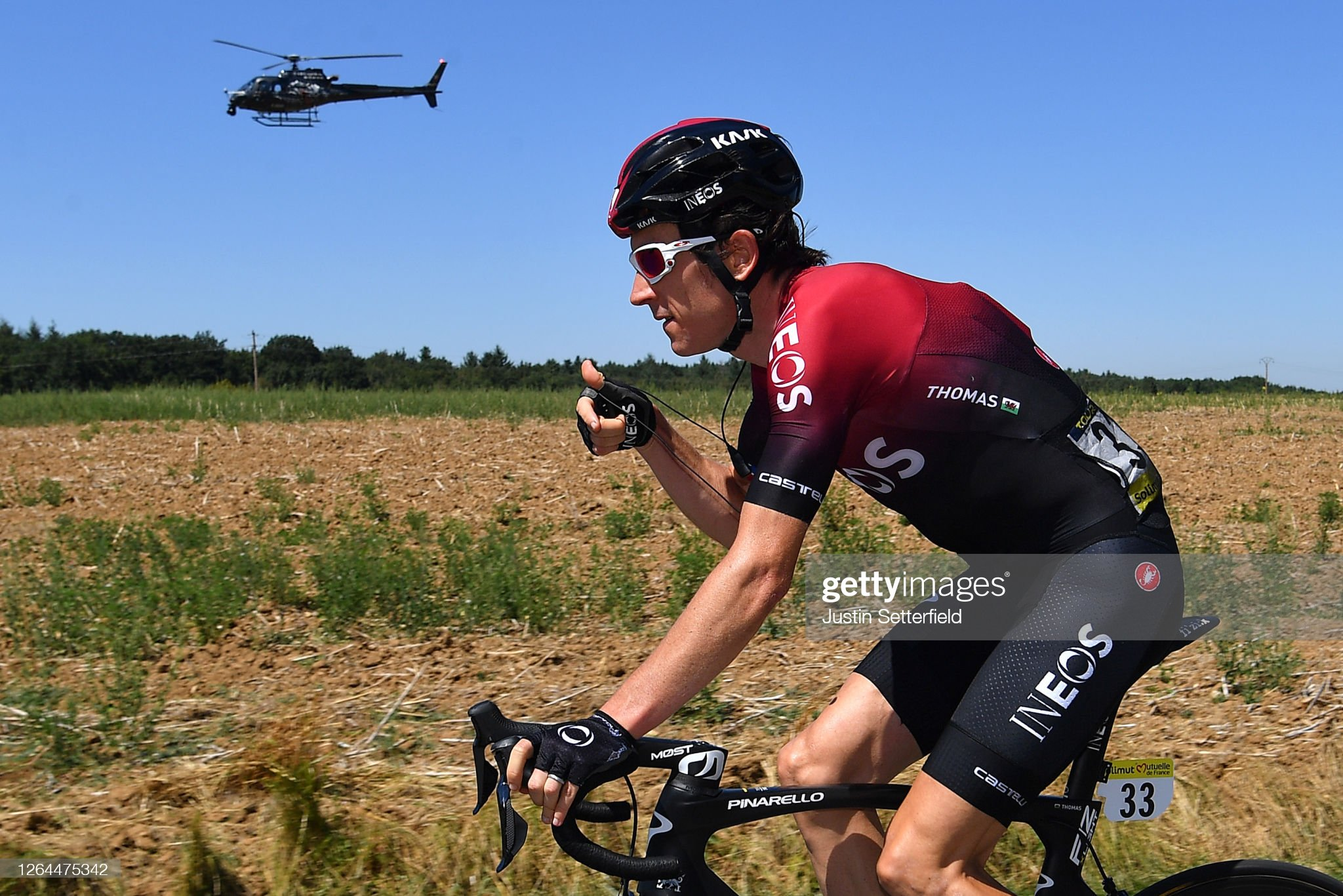Geraint Thomas Starts The Climb To The Tour De France . . . And Says The Legs Are Moving Nicely