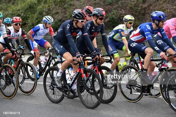 Geraint Thomas of The United Kingdom & Michal Kwiatkowski of Poland and Team INEOS Grenadiers during the 56th Tirreno-Adriatico 2021, Stage 5 a 205km...