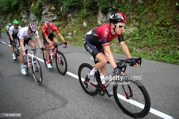 Geraint Thomas of United Kingdom and Team INEOS / Andre Greipel of Germany and Team Arkea-Samsic / during the 106th Tour de France 2019, Stage 7 a...