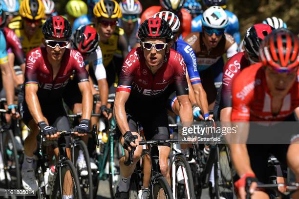 Geraint Thomas of United Kingdom and Team INEOS / during the 106th Tour de France 2019 Stage 8 a 200km stage from Mâcon to SaintÉtienne 486m / TDF /...
