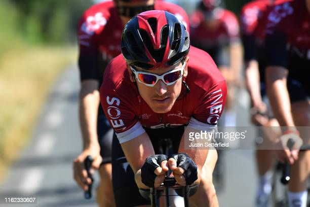 Geraint Thomas of United Kingdom and Team INEOS / during the 106th Tour de France 2019 Team INEOS Training / Rest Day / TDF / #TDF2019 / @LeTour / on...