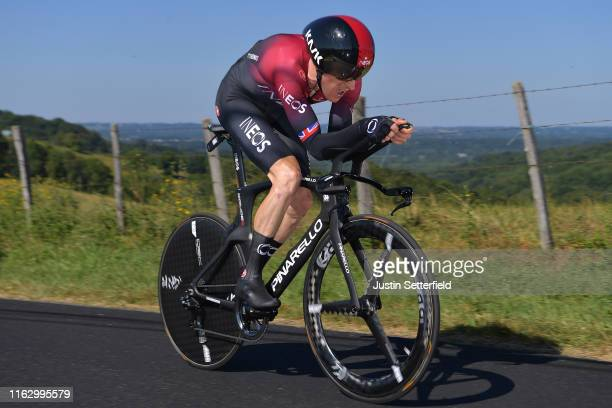 Geraint Thomas of United Kingdom and Team INEOS / during the 106th Tour de France 2019 - Stage 13 a 27,2km Individual Time Trial Stage from Pau to...