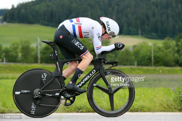 Geraint Thomas of United Kingdom and Team INEOS / during the 83rd Tour of Switzerland, Stage 1 a 9,5km Individual Time Trial from Langnau im Emmental...