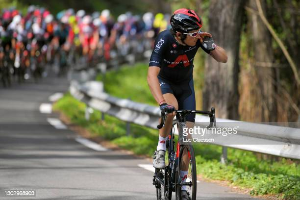 Geraint Thomas of United Kingdom and Team INEOS Grenadiers during the 53rd Tour Des Alpes Maritimes Et Du Var, Stage 1 a 186,8km stage from Biot to...