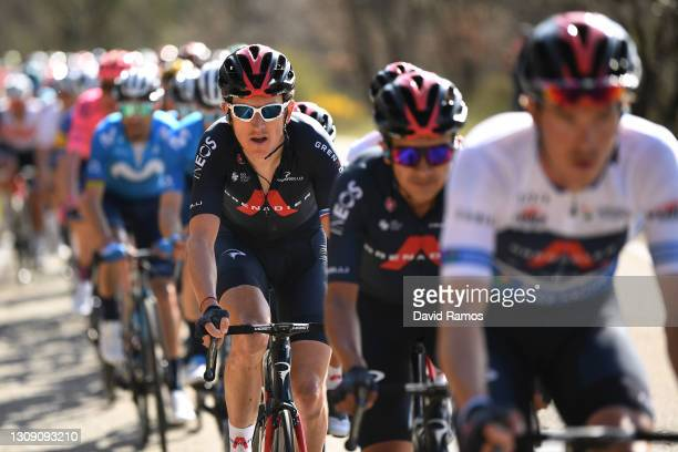 Geraint Thomas of United Kingdom and Team INEOS Grenadiers during the 100th Volta Ciclista a Catalunya 2021, Stage 4 a 166,5km stage from Ripoll to...