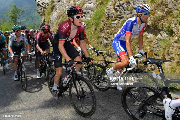 Geraint Thomas of United Kingdom and Team INEOS / Thibaut Pinot of France and Team Groupama-FDJ / during the 106th Tour de France 2019, Stage 14 a...