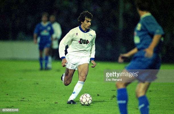 Gerald Baticle of Auxerre during Uefa Cup match between Auxerre and Tenerife in Auxerre on September 29th 1993