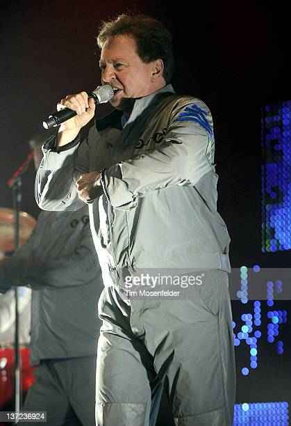 Gerald Casale of Devo performs at The Uptown Theater on January 15 2012 in Napa California