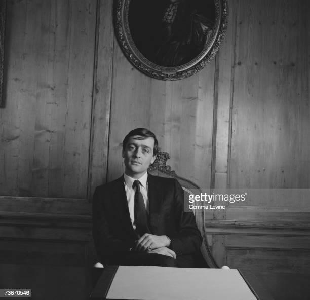 Gerald Cavendish Grosvenor the 6th Duke of Westminster circa 1985