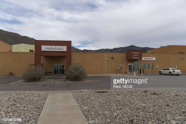 Gerald Champion Regional Medical Center in Alamogordo New Mexico on December 25 where Customs and Border Protection reported the death of an...