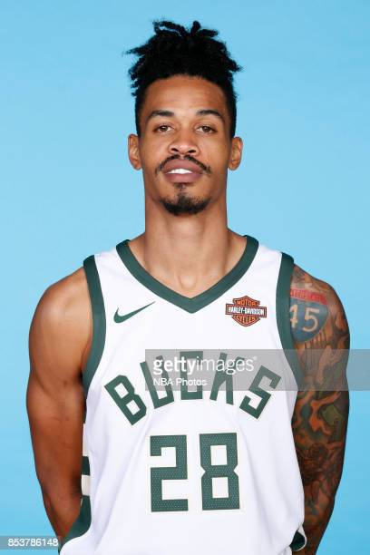 Gerald Green of the Milwaukee Bucks poses for a head shot during media day on September 25 2017 at the Froedtert and Medical College of Wisconsin...