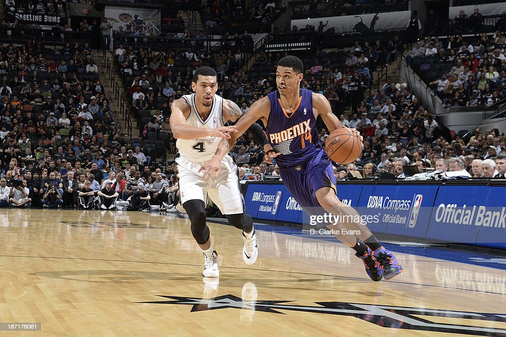Gerald Green Of The Phoenix Suns Drives To The Basket Against Danny News Photo Getty Images
