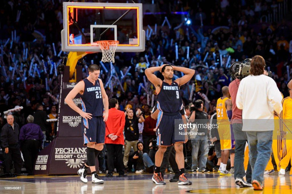 Charlotte Bobcats v Los Angeles Lakers