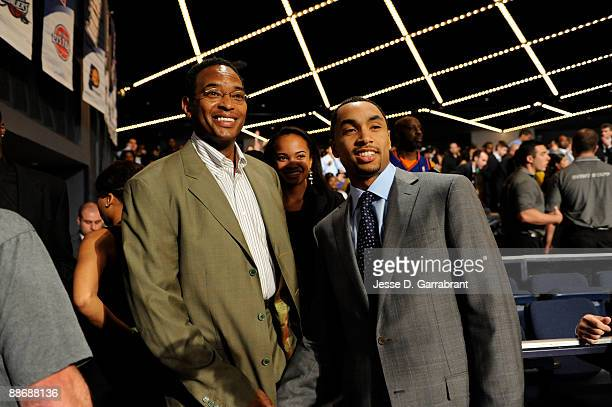 Gerald Henderson stands in the green room during the 2009 NBA Draft on June 25 2009 at the WaMu Theatre in New York New York NOTE TO USER User...