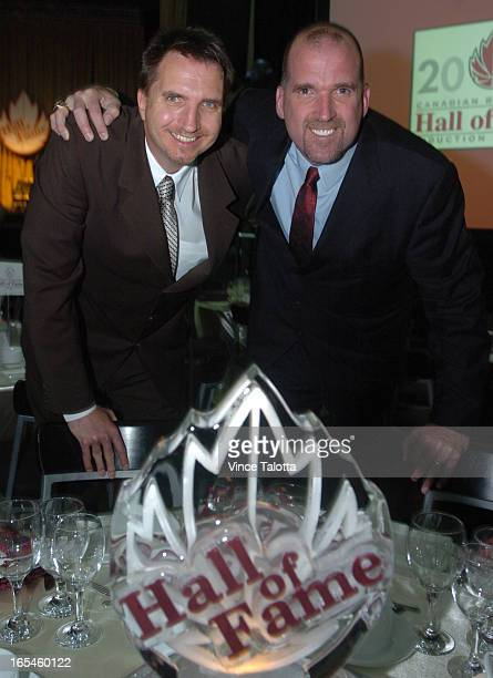 05/25/05 TORONTO ONTARIO Gerald Kazanowski and Bill Wennington inducted into Canada Basketball Hall of Fame Bill Wennington patrolled the paint as a...