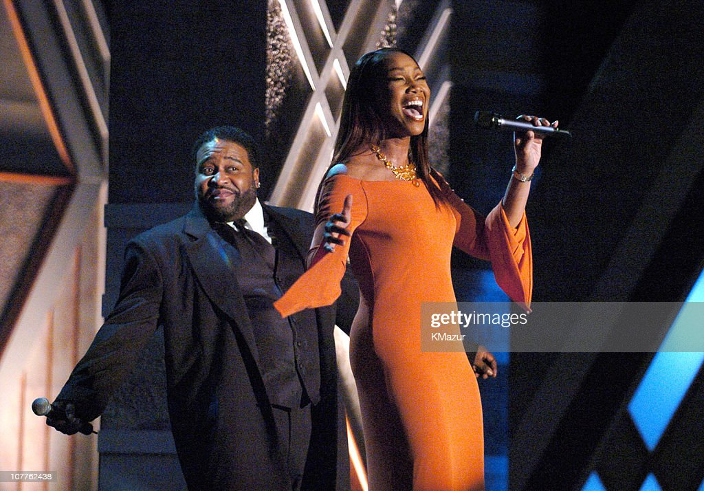 Gerald Levert and Yolanda Adams perform 'I Believe I Can Fly'