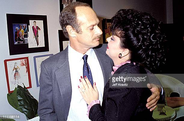Gerald McRainey Delta Burke during 1988 Women in Film Lunch in Los Angeles CA United States
