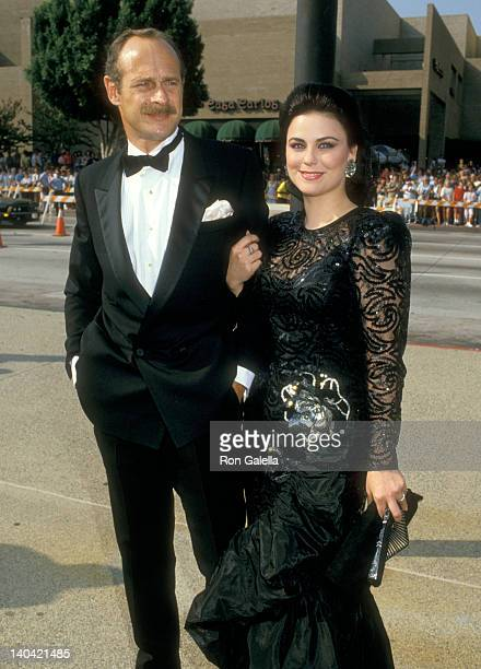 Gerald McRaney and Delta Burke at the 39th Annual Primetime Emmy Awards Pasadena Civic Auditorium Pasadena