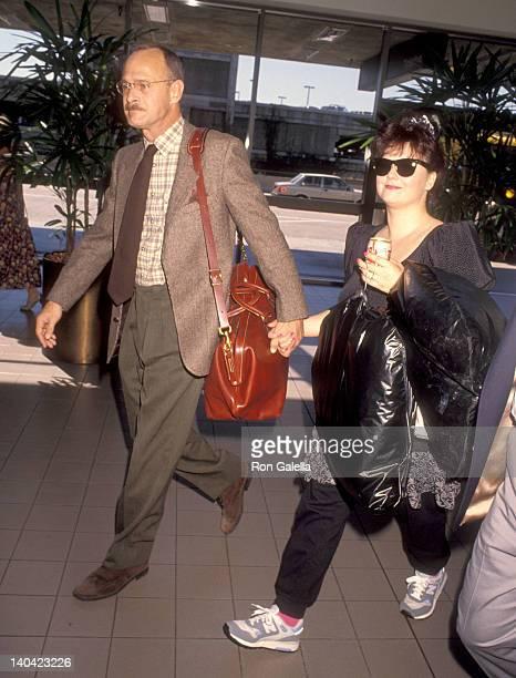 Gerald McRaney and Delta Burke at the Gerald McRaney and Delta Burke at Los Angeles International Airport Los Angeles International Airport Los...