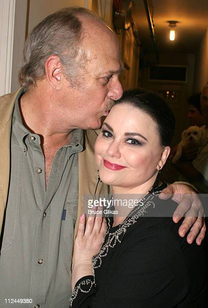 Gerald McRaney and Delta Burke during Steel Magnolias Final Performance on Broadway Benefiting The Actors Fund of America at The Lyceum Theater in...