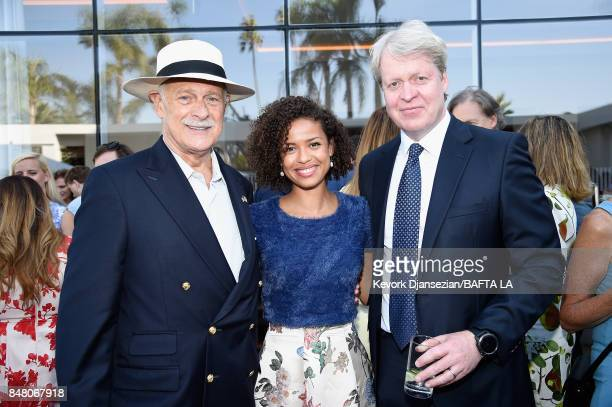 Gerald McRaney Gugu MbathaRaw and Charles 9th Earl of Spencer attend the BBC America BAFTA Los Angeles TV Tea Party 2017 at The Beverly Hilton Hotel...