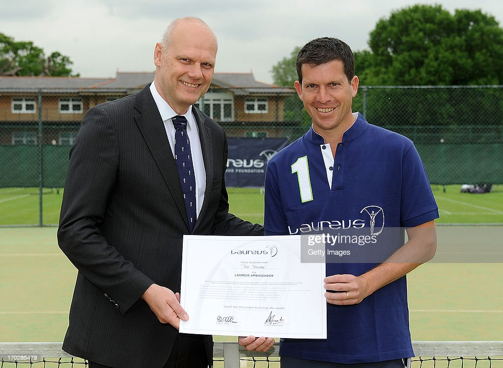 Tim Henman Ambassador Announcement