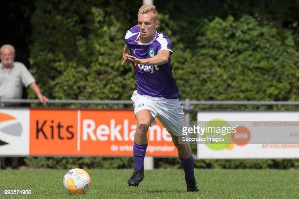 Gerald Postma of FC Groningen during the Club Friendly match between vv 't Fean '58 v FC Groningen at the Sportpark It Ketting on July 7 2018 in...
