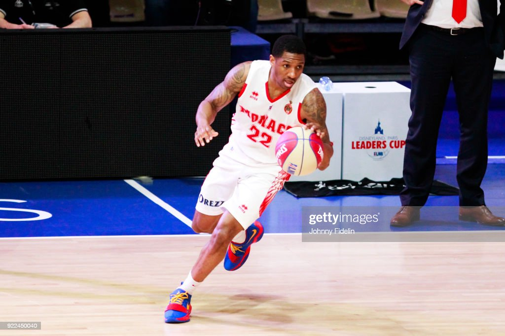 Gerald Robinson of Monaco during the Final Leaders Cup match between Le Mans and Monaco at Disneyland Resort Paris on February 18, 2018 in Paris, France.