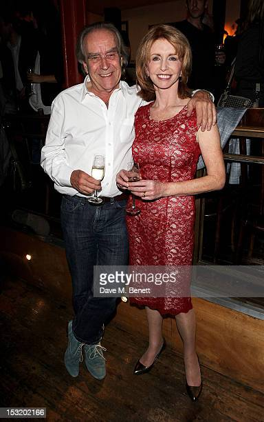 Gerald Scarfe and cast member Jane Asher attend an after party following the press night performance of 'Charley's Aunt' at Menier Chocolate Factory...