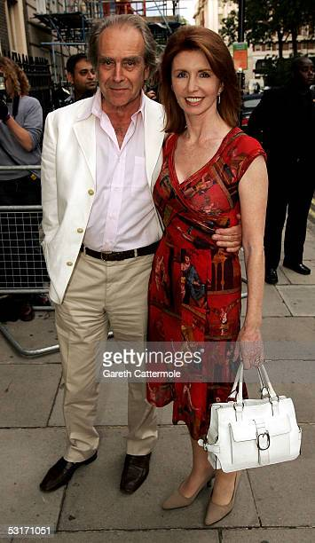 Gerald Scarfe and Jane Asher attend the annual Tatler Summer Party hosted by Tatler editor Geordie Greig and also celebrating the publication of...