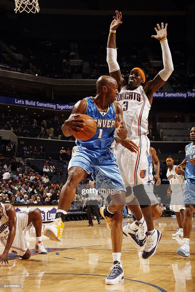 Denver Nuggets v Charlotte Bobcats