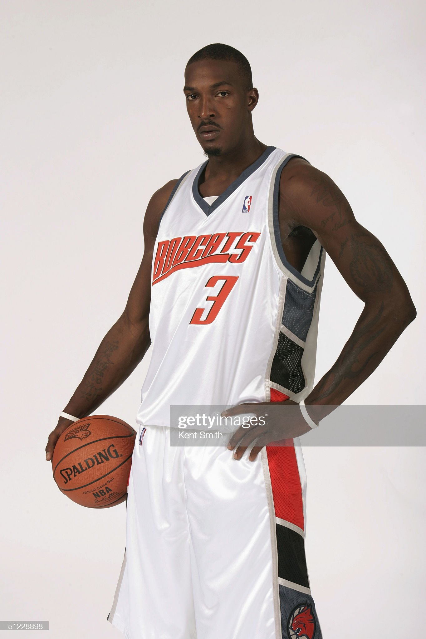 Bobcats Jersey : News Photo