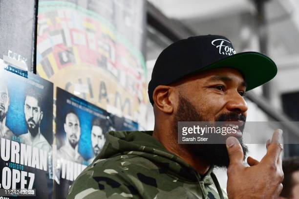 Gerald Washington speaks with media during the media workout at Gleason s  Gym on January 23 2019 e5febc6cf536