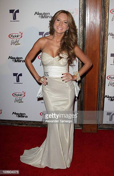 Geraldine Bazan attends screening of Telemundo's 'Alguien Te Mira' at The Biltmore Hotel on September 7 2010 in Coral Gables Florida