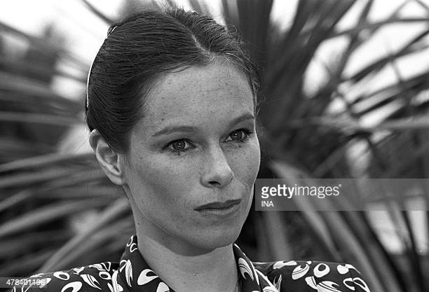 Geraldine Chaplin during a cocktail of the SFP during the Cannes film festival