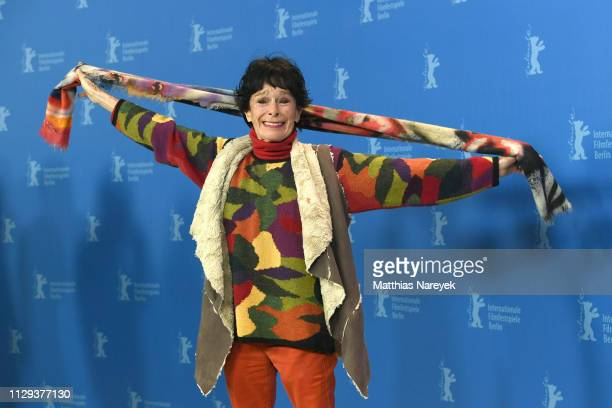 Geraldine Chaplin poses at the La Fiera Y La Fiesta photocall during the 69th Berlinale International Film Festival Berlin at Grand Hyatt Hotel on...