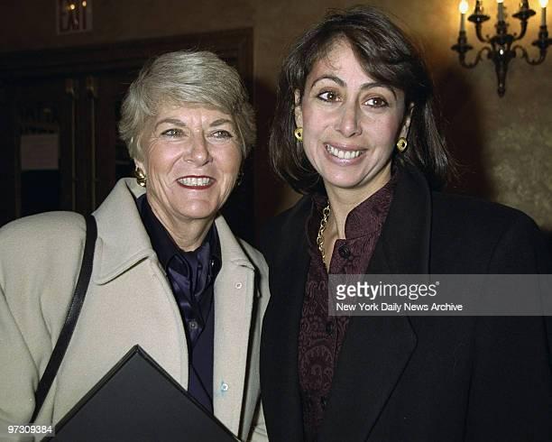 Geraldine Ferraro and daughter Donna Zaccaro at GM Celebrity Fund Raiser for the National Breast Cancer Coalition Fund held at Manhattan Center