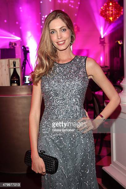 Geraldine Golz attends the AMREF Charity Gala 'Come Fly With Us' at Rilano No 6 on March 21 2014 in Munich Germany