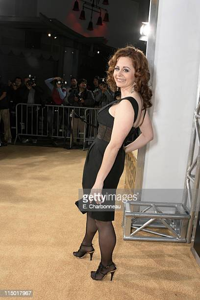 Geraldine Hughes during MGM Pictures Columbia Pictures and Revolution Studios present the World Premiere of 'Rocky Balboa' at Grauman's Chinese...