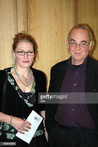 Geraldine James and guest during Shepperton Studios A Visual Celebration Book Launch at BAFTA 195 Piccadilly in London Great Britain