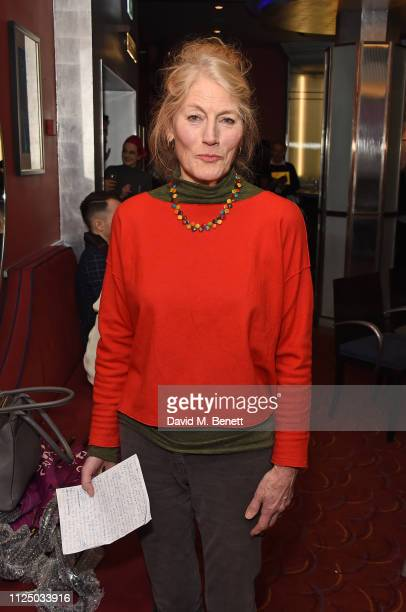 Geraldine James attends the Acting For Others 2019 Golden Bucket awards at The Prince of Wales Theatre on February 15 2019 in London England