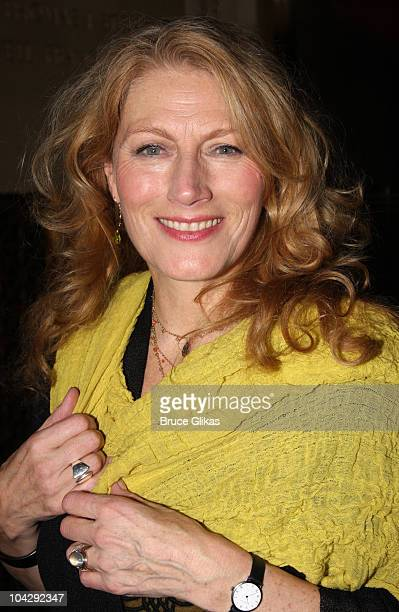 Geraldine James attends the after party for the Broadway opening night of Hamlet at Gotham Hall on October 6 2009 in New York City