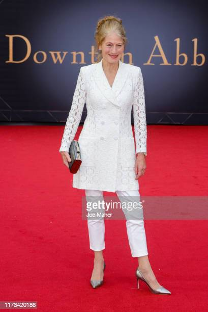 Geraldine James attends the Downton Abbey World Premiere at Cineworld Leicester Square on September 09 2019 in London England
